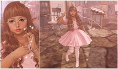 Whimsical Breaks (Lili [My Fashionista Heart]) Tags: pinkfuel song ayashi catwa maitreya mudskin cubiccherry supernatural thesugargarden yokai whimsical limit8