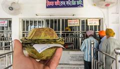 IMG_40927 (Manveer Jarosz) Tags: amritsar bharat goldentemple hindustan india punjab sikh sriharmandirsahib gurdwara halva holy line pilgrimage prasad temple