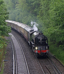 Dull days (Treflyn) Tags: a1 pacific 60163 tornado earley reading london victoria bristol belmond british pullman