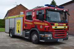 Humberside - YJ58EES - Barton upon Humber - WrT (matthewleggott) Tags: humberside fire rescue servic engine appliance scania yj58ees emergency one