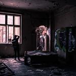 Exploring an abandoned building - Bucharest, Romania - Travel photography thumbnail