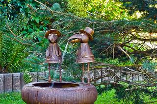 Ehrwald, Tirol - Austria - water fountain (1140167)