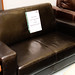 2 seater brown leatherette E200 ideal for rental properties
