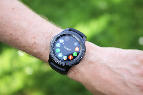 Samsung Gear S3 frontier smartwatch by Andri Koolme, on Flickr