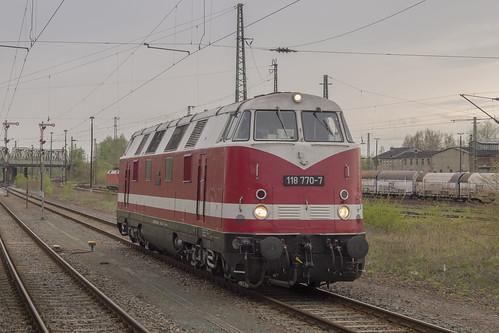 D DR 118 770-7  Zwickau 25-04-2017