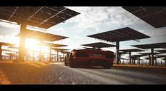 Lamborghini Aventador (Thomas_982) Tags: cars gt5 auto gt6 italy gemasolar lamborghini aventador orange ps3 gran turismo ps4 outdoor