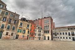 Venetian Exteriors (Nola Nate) Tags: venice italy europe hdr ibeauty campi campo buildings exterior
