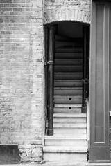 Climb me (Mister Rad) Tags: nikond600 nikon50mmf14g london farringdon stairway blackandwhite citystreets