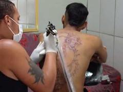 TATUAGEM . DRAGÃO 1° SESSÃO .. 20.04.2013 (portalminas) Tags: tatuagem dragão 1° sessão 20042013