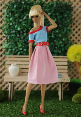 sea style Marina (grsve) Tags: doll dynamitegirls integritytoys fashionroyalty aria convention