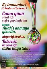 Happy Fridays (Oku Rabbinin Adiyla) Tags: allah kuran islam ayet quran religion