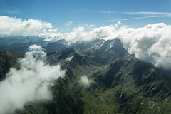 In A Valley Of Clouds (Daniele Pauletto) Tags: landscape mountains clouds flight aerial aerea orobie italia fly plane dpphotography nature