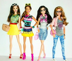 Favorite Face (Dia 777) Tags: barbie dolls barbiedolls dia777 neysa joyce bambi teresa barbiefashionistas thedollevolves smoothiechefbarbie