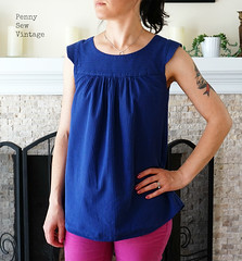 Ruby Top (pennysewvintage) Tags: refashion rubytop madebyrae