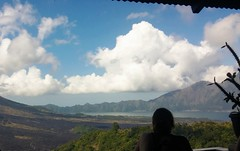 Batur Caldera, Kintamani (scinta1) Tags: baturbaguscottages kedisan view mountain lake mountains sky blue clouds landscape indonesia bali kintamani mountbatur gunungbatur lakebatur danaubatur volcano caldera