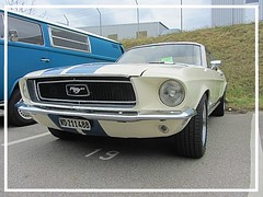 Ford Mustang, 1968 (v8dub) Tags: ford mustang 1968 schweiz suisse switzerland fribourg freiburg otm american muscle pkw pony voiture car wagen worldcars auto automobile automotive old oldtimer oldcar klassik classic collector
