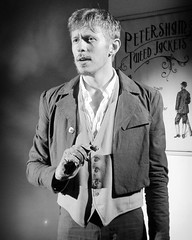George Nettleton as Ivan in the South London Theatre's production of The Crocodile by Tom Basden.