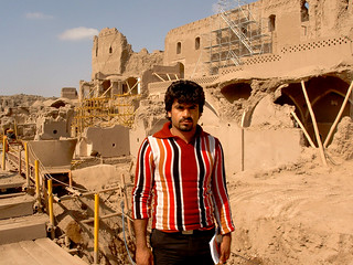 My taxi driver in Bam, Iran