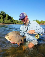 Pacu - Kendjam (Kendjam - The Kayapo Legacy) Tags: amazon brazil iriri jungle rainforest kayapo tribe kendjam southamerica flyfishing untamedangling