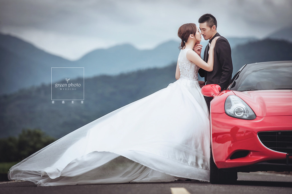 [自主婚紗] 男人夢想婚紗照