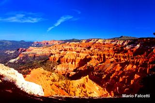USA: Utah: Cedar Breaks National Monument: Sunset Point