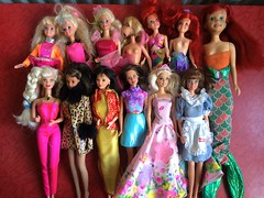Flea Market Finds : 04/23/2017 (Part 1) (MyMonsterHighWorld) Tags: flea market finds barbie doll dolls tyco ariel teresa kira skipper disney