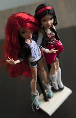 BBF (dancingmorgana) Tags: disney doll dolls ariel snow white snowwhite hybrid head body everafterhigh ever after high fairytales mermaid