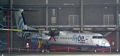 DHC-8 | G-JECP | AMS | 20170521 (Wally.H) Tags: bombardier dehavillandcanada dhc8 dash8 gjecp flybe ams eham amsterdam schiphol airport