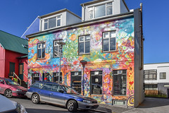 The streets of Reykjavik (powerfocusfotografie) Tags: iceland city reykjavik travelling outdoors mural island colorful streetphotography henk nikond7200 powerfocusfotografie