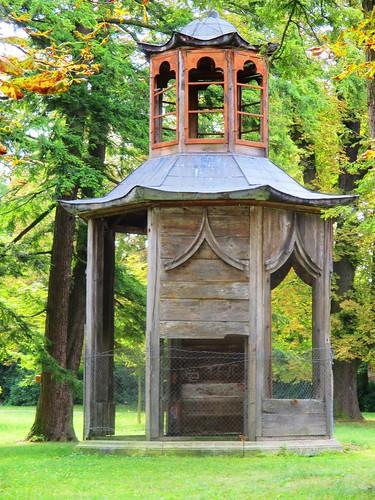 Slavkov u Brna - zámecká zahrada - altánek