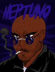 negaovhato (VINXS 19998) Tags: magos ilustração vetor digital paint art brazil artists acid devils caos hunters martin