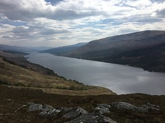 Loch Arkaig from high up (What I saw...) Tags: loch arkaig highlands scotland