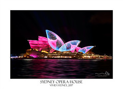 Sydney Opera House (sugarbellaleah) Tags: sydneyoperahouse landmark iconic vividsydney architecture nightlife recreaiton event fun tourismnsw australia design light vibrant patterns urban festival night travel tourism sydney building colours
