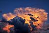 Nuage du soir. (jjcordier) Tags: nuage cumulus météorologie