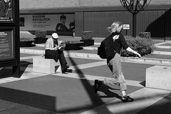 Time Difference (E Y Mao) Tags: streetphotography street photography london uk bw leica m9 summilux 50mm