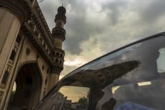 The Glorious Minar (Arpa Ghosh) Tags: charminar history laad bazar market telangana hyderabad tourism india canon 121clicks heritage nizam qutub