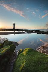 Perch Rock Sunset 2 6 17  #2 (GOLDENORFE) Tags: lighthouse perchrock sunset