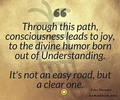 Consciousness and divine humor (Damanhur, Federation of Communities) Tags: flickr facebook page upload photo consciousness humor divine understanding road gold background quote