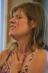Pam (sharonhorning) Tags: sideview heartfelt emotional face woman portrait