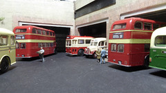 Busy Morning at the West Yorkshire Bus Garage. (ManOfYorkshire) Tags: bus garage depot wyrcc westyorkshire buses bristol lodekka mw ls bedfordob tilling red unitedcounties eastmidland