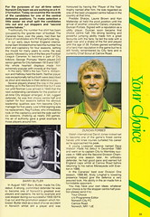 Norwich City vs Luton Town - 1991 - Page 33 (The Sky Strikers) Tags: norwich city luton town barclays league division one carrow road official matchday programme pound twenty