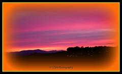 Dumbarton Sunset (Rollingstone1) Tags: sunset scotland sundown surreal brucehill dumbarton red purple sky fiery art artwork outdoor vivid colour