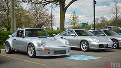 Cars & Coffee - Porsche Center Oakville 2017 (chaozbanditfoto) Tags: oakville ontario canada porsche 911 964 carrera 911carrera 911turbo turbo coupe