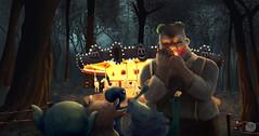 Deep in woods (zurdo alejo) Tags: quito ilustrador ecuador animador concept art pintura digital destacado zurdo alejo calderon alejandro