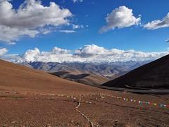View of the Himalayan Range (MintyTG) Tags: tibet himalayanrange