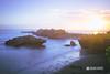 Temple on Mengening Beach (anomharyacom) Tags: sunsetbali sunsetbeachbali sunsetphotobali matahariterbenambali pantaimengening mengeningbeach sunsettabanan