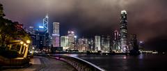 Hong Kong (drasphotography) Tags: hongkong hong kong china nightshot night nachtaufnahme notte long time exposure langzeit aufnahme drasphotography nikon nikkor2470mmf28 d810 architektur architecture skyline sky cielo himmel travel travelphotography reise reisefotografie viaggio globetrekker