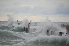 Wild Weather (naturesights) Tags: lakes michigan storm greatlakes rough waves
