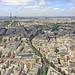 Paris vu depuis le 56ème étage de la tour Montparnasse