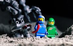 IMG_5535 (Hue Hughes) Tags: lego space spacemission moon moonlanding lunar astronaut unikitty benny superman alien mech spaceman rover lunarrover craters moondust toys macro fun cute apollo